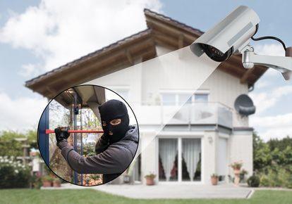 Kamera erfasst Einbrecher
